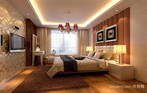 100平米大户型欧式房屋卧室吊顶装修效果图