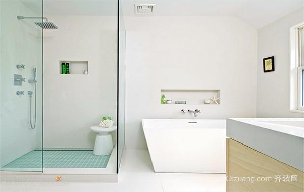 40平米小户型欧式卫生间装修效果图