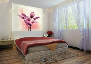 现代时尚简约卧室装修效果图