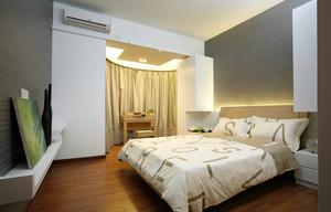 都市时尚简约卧室装修效果图