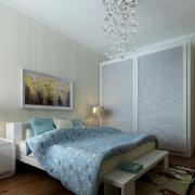 15平米现代简约风格卧室装修效果图