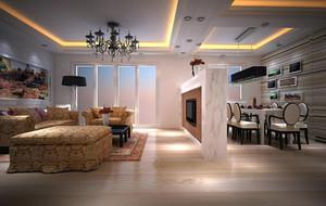 2016年全新款欧式风格客厅装修效果图