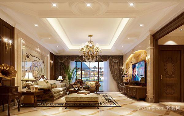 时尚奢华大气精致客厅吊灯效果图赏析
