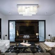 客厅吊灯装修效果图