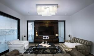 现代简欧精致客厅装修效果图