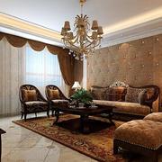 欧式别墅客厅整体设计图