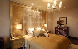 美式田园风格卧室装修图