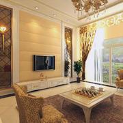 现代精美的大户型欧式客厅装修效果图欣赏