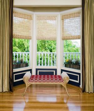 现代欧式室内大户型飘窗装修效果图实例