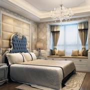 精致的别墅型欧式卧室设计装修效果图欣赏
