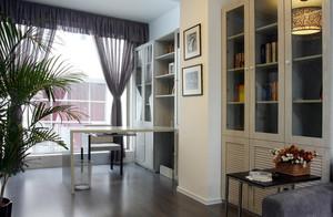 别墅型是时尚精致大书房装修效果图