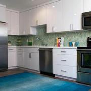 欧式唯美的大户型现代室内橱柜装修效果图