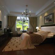 完美的大户型欧式风格卧室室内装修效果图