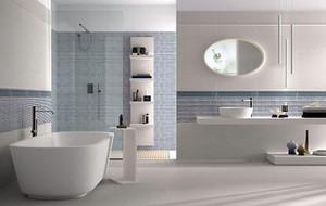 现代时尚三居室卫生间装修效果图