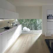 别墅型欧式唯美不锈钢橱柜装修效果图实例