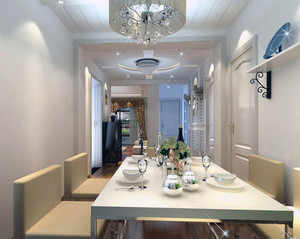 100平米大户型欧式精美房屋餐厅装修效果图