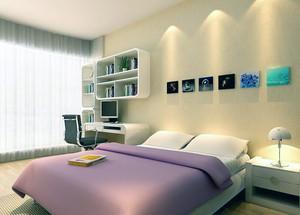 现代欧式大户型卧室床头背景墙装修效果图鉴赏