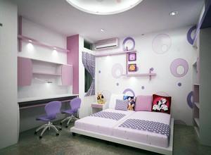 小户型现代精致儿童卧室室内装修效果图实例