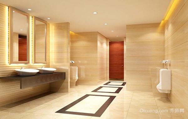 40平米小户型欧式小卫生间装修效果图