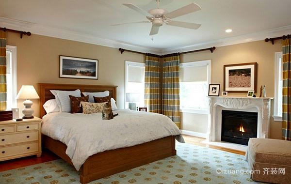 2016年全新款欧式田园风格卧室装修效果图