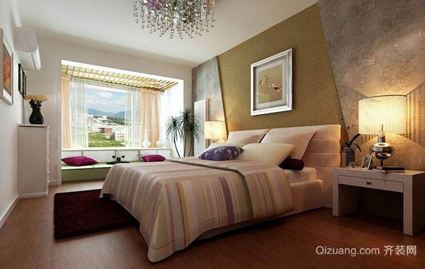 现代简约欧风格卧室吊灯装修效果图赏析