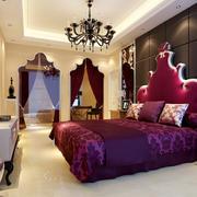 华丽欧式风格卧室效果图