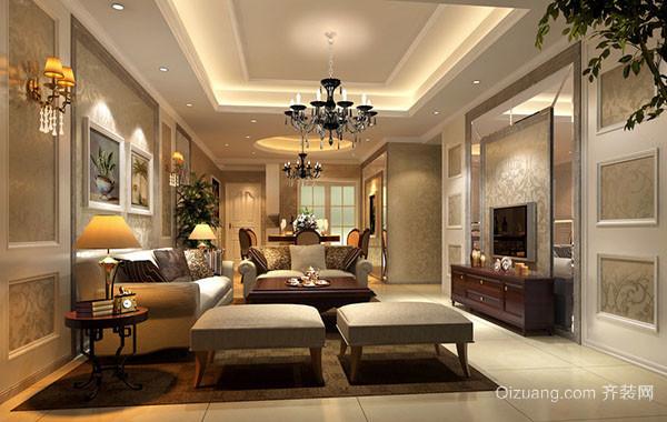 时尚精致欧式风格卧室装修效果图