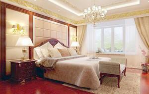 皇家般的别墅欧式风格卧室效果图