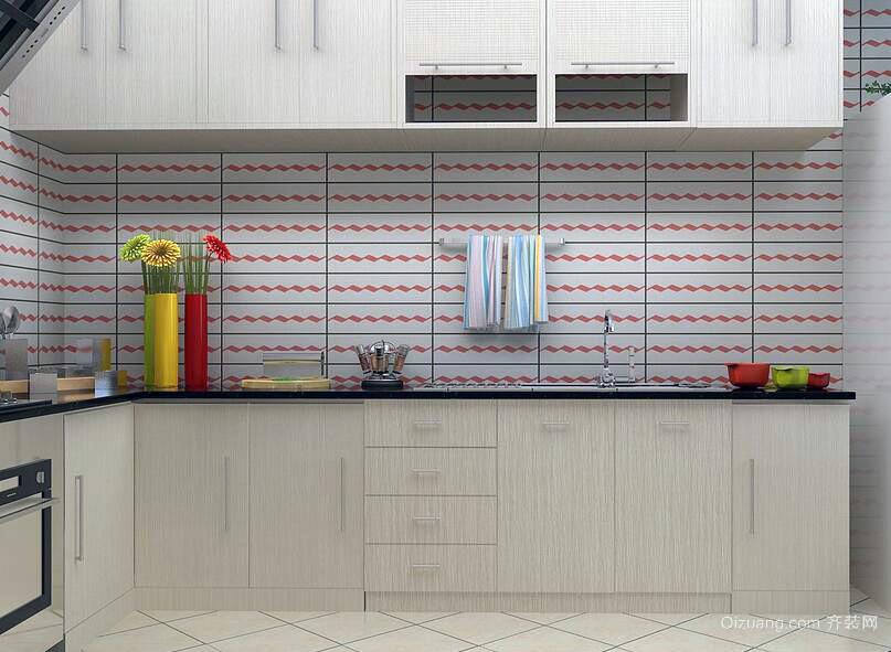 小户型欧式风格唯美厨房装修效果图实例