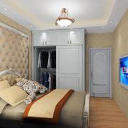 2016小户型时尚的室内衣柜装修效果图