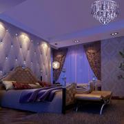 奢华卧室效果图