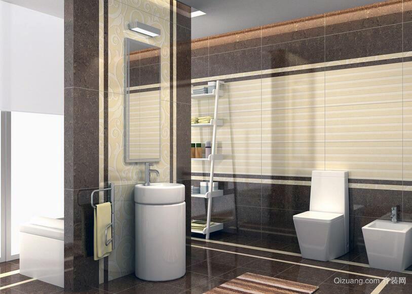 2016别墅型欧式唯美卫生间装修效果图