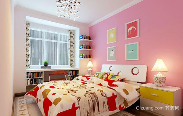 现代时尚简约儿童房装修效果图