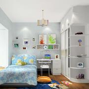 现代都市简约轻快儿童房装修效果图