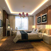 小户型欧式风格卧室室内装修效果图实例