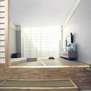 日式风格小户型精致的榻榻米装修效果图