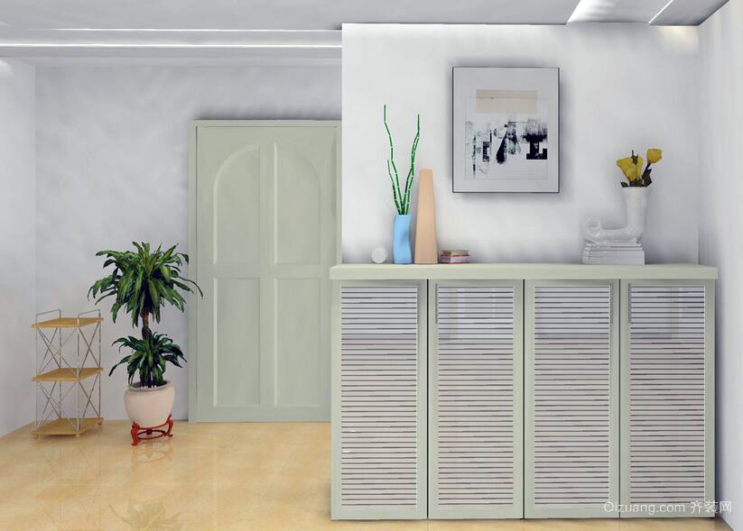 欧式风格大户型唯美室内鞋柜装修效果图