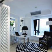 现代室内大户型欧式时尚飘窗装修效果图