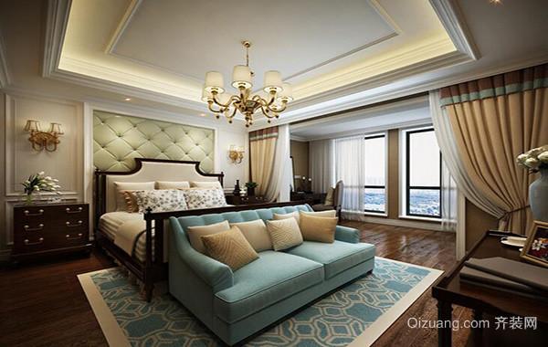 精美小户型欧式卧室吊顶装修效果图实例