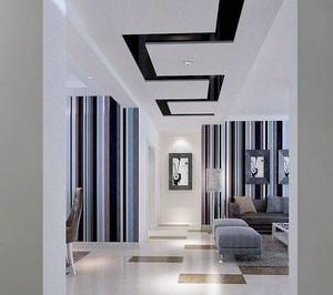 欧式风格别墅型经典走廊吊顶装修效果图鉴赏