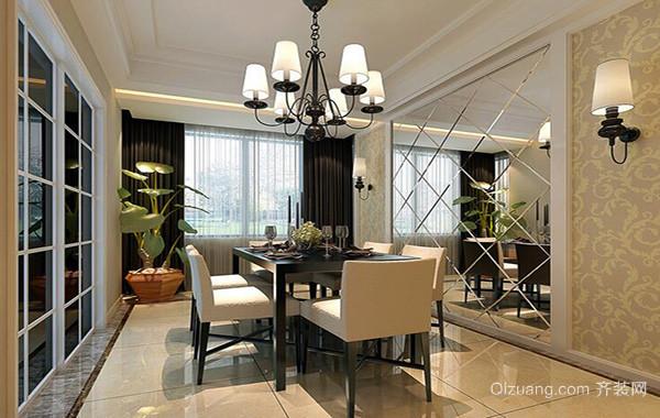 40平米欧式小户型餐厅吊顶装修效果图欣赏