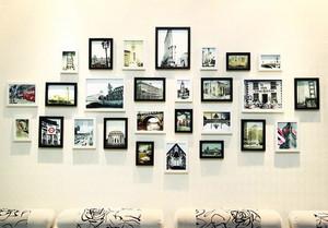 时尚简约照片墙装修效果图