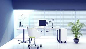 现代简约办公室装修效果图
