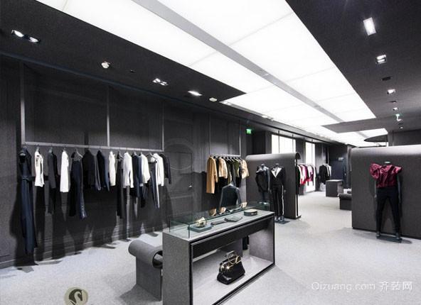 现代风格服装店隔断设计衣柜装修效果图赏析