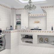 欧式风格大户型室内厨房装修设计效果图