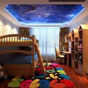 儿童房吊灯装修效果图