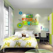 儿童房窗帘效果图