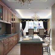 2016小户型简欧风格厨房室内装修效果图实例