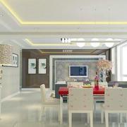 现代欧式客厅装修图