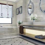 欧式风格大户型卫生间室内装修效果图欣赏